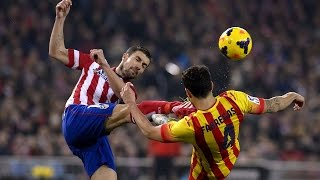 Barcelona vs Atletico Madrid - Fights, Fouls, Dives & Red cards | Part 1 HD