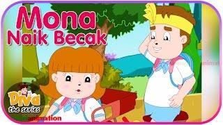 Mona Naik Becak | Video Lucu Diva the series | Diva The Series Official
