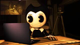 [BATIM/SFM] Bendy reacts to Chapter 5 Trailer - Bendy and the Ink Machine