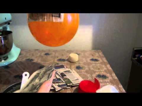 Cómo hacer piñata navideña con engrudo y un globo Parte 1 2 La receta de la abuelita