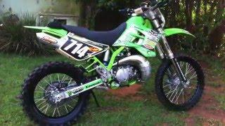 Restauração KDX 200 1995 Sparky