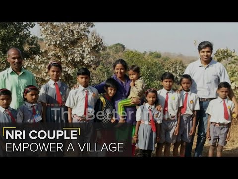 This NRI Couple Quit Their Jobs to Empower this Remote Village in Maharashtra