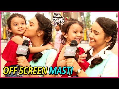Xxx Mp4 Yeh Un Dinon Ki Baat Hai Ashi Singh Aka Naina S Off Screen FUN With Little Princess Trisha 3gp Sex