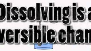 Unit 6E   Reversible and Irreversible Changes   The Science Video