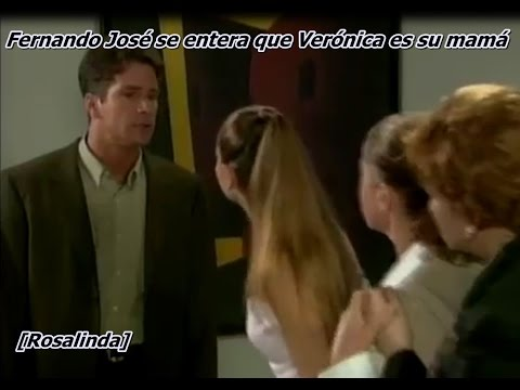 Fernando José se entera que Verónica es su mamá Rosalinda