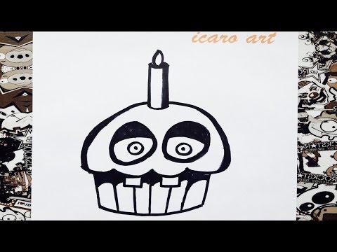Xxx Mp4 Como Dibujar A Cupcake De Five Nights At Freddy S How To Draw Cupcake 3gp Sex