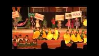 fruits song performance by Ukg Kids