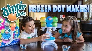 HOW TO MAKE DIPPIN' DOTS AT HOME With The FROZEN DOT MAKER!!!  Flashback Week #5