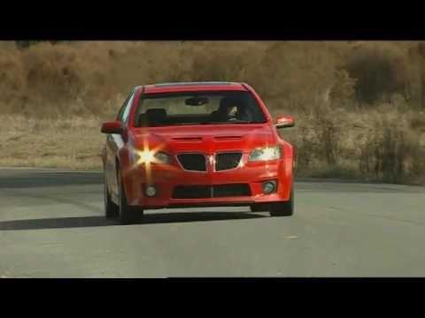 MotorWeek Road Test: 2009 Pontiac G8 GXP