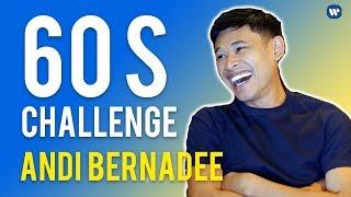Andi Bernadee  | #60SChallenge