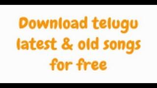 Download Telugu
