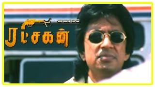 Ratchagan Tamil Movie Scenes | Sushmita Sen and Nagarjuna patch up | Raghuvaran recollects his past
