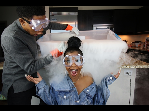 CRAZY DRY ICE EXPERIMENT