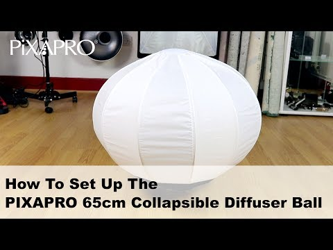 How To Set Up the PiXAPRO 65cm Collapsible Diffuser Ball