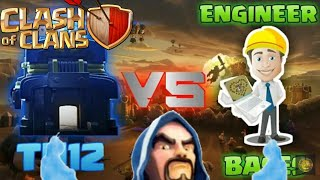 How to make th12 engineered base in clash of clans.