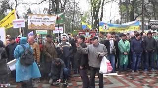 На Украине травят Пчел и Людей... Акция Протеста в Киеве.