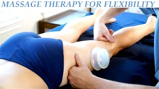 Hip & Glute Massage Therapy for Legs, Cupping, Sports Massage | HD Advanced Body Work Techniques