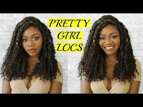 Curly Bohemian Goddess Faux Locs Step by Step Tutorial | DIY Faux Locs | Crochet + JNM Individuals