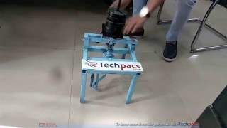 Quick lifting Jack with bevel Gear Arrangement