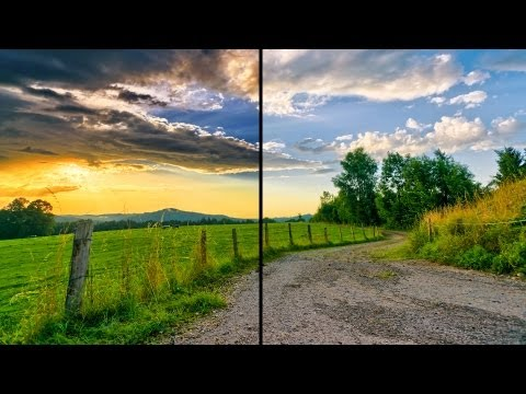 Create HDR Photo - GIMP 2.8 Tutorial