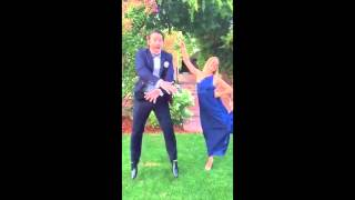 Pants ripping at wedding, very embarrassing