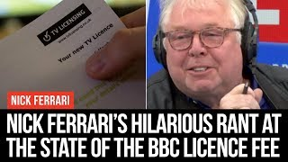 This Is What The BBC Licence Fee Pays For - Nick Ferrari - LBC