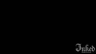 wild tatto video 06 An octopus tattoo on the ass