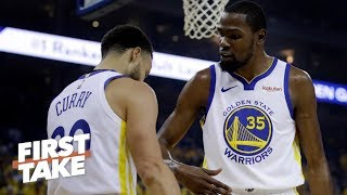 The Warriors need KD more than the Knicks, Nets, Clippers – Max Kellerman | First Take