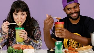 People Blend Their Favorite Foods Together