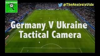 Germany V Ukraine TACTICAL CAMERA