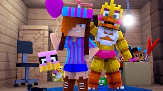 YOU'RE THE REAL FREDDY? - MINECRAFT FIVE NIGHTS AT FREDDYS / FNAF (Roleplay)
