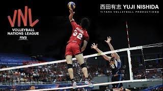 Monster of the Vertical Jump | Yuji Nishida 西田有志 | VNL 2018 ᴴᴰ