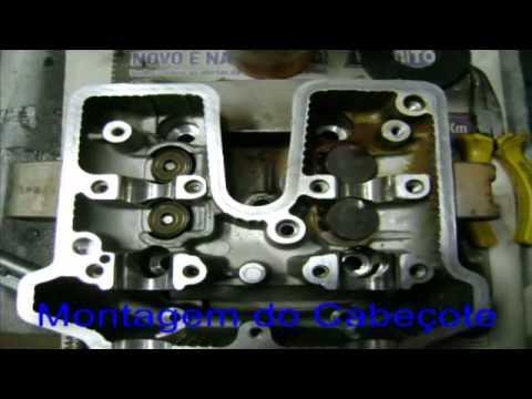 CBX250 TWISTER MONTAGEM DO MOTOR