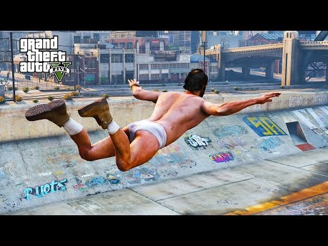 GTA V RANDOM & FUNNY MOMENTS 62 How To Ruin A Beach Party Trevor Lost His Pants
