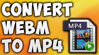 How To Convert WEBM To MP4 Online - Best WEBM To MP4 Converter [BEGINNER'S TUTORIAL]