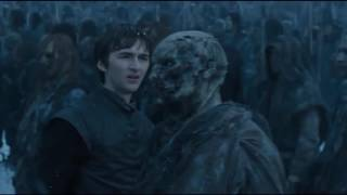 Game of Thrones 6x05: Bran meets White Walkers