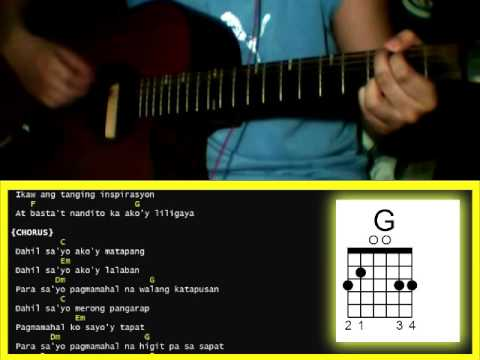 Dahil Sayo by Inigo Pascual - Guitar Chords - PakVim   Fastest HD ...
