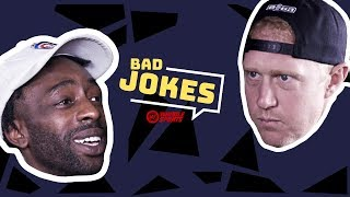 Brian Scalabrine vs. FamousLos32   Bad Joke Telling