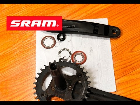 SRAM X1/GX/NX/X01 Crankset Install, Removal, Maintenance GXP BB - Trek Fuel EX9