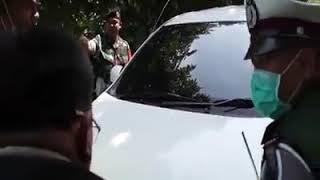 Aksi driver Xenia saat oprasi zebra