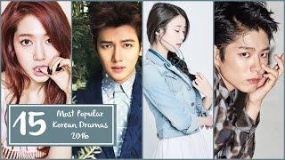 15 Most Popular Korean Dramas 2016