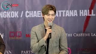 180915 งานแถลงข่าว 2018 Lee Jong Suk Fan Meeting in Bangkok 'CRANK UP'