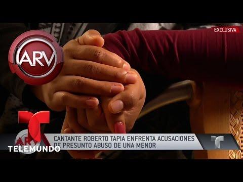 Acusan a Roberto Tapia de supuesta violación a menor Al Rojo Vivo Telemundo