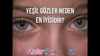 Yeşil gözler neden en iyisidir?