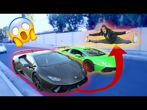 Xxx Mp4 JUMPING TWO SPEEDING LAMBORGHINIS BACK TO BACK Don't Attempt 3gp Sex