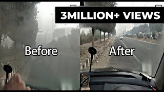 How To Remove Fog   How to Stop Car Windows from Steaming Up   Car Problem   Simple   VBO Vlogs
