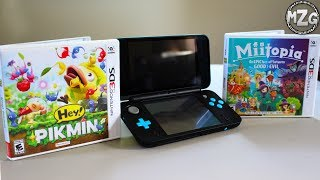 NEW Nintendo 2DS XL Unboxing + 2 New Games!