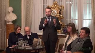Literatūros ir tautosakos instituto Algio Kalėdos premijos įteikymas prof. Tadeuszui Bujnickiui