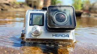 Found Lost GoPro Underwater in River! (Scuba Diving)
