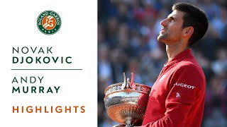 Novak Djokovic v Andy Murray Highlights - Men